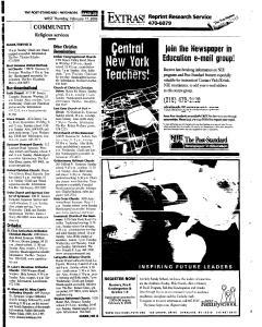 Syracuse Post Standard, February 17, 2005, Page 241