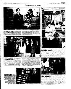 Syracuse Post Standard, February 17, 2005, Page 93