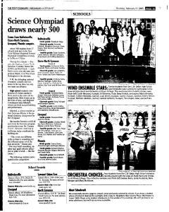 Syracuse Post Standard, February 17, 2005, Page 129
