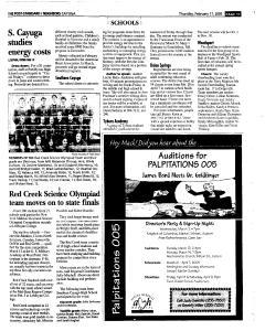 Syracuse Post Standard, February 17, 2005, Page 311