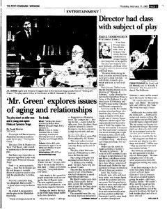 Syracuse Post Standard, February 17, 2005, Page 51