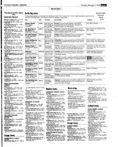 Syracuse Post Standard, February 17, 2005, Page 55