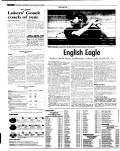 Syracuse Post Standard, February 18, 2005, Page 28