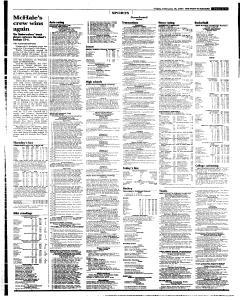 Syracuse Post Standard, February 18, 2005, Page 37