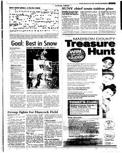 Syracuse Post Standard, February 18, 2005, Page 95