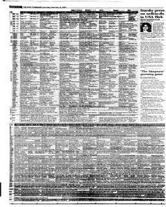 Syracuse Post Standard, February 19, 2005, Page 42