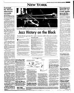 Syracuse Post Standard, February 19, 2005, Page 60