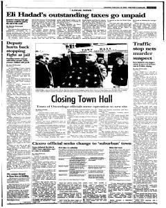 Syracuse Post Standard, February 19, 2005, Page 96