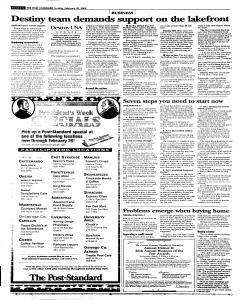 Syracuse Post Standard, February 20, 2005, Page 56