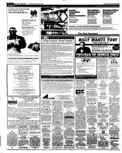 Syracuse Post Standard, February 20, 2005, Page 62