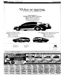 Syracuse Post Standard, February 20, 2005, Page 76