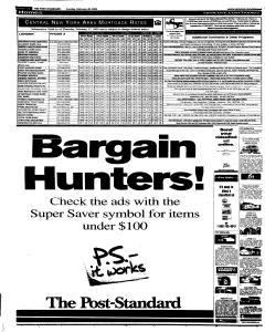 Syracuse Post Standard, February 20, 2005, Page 94