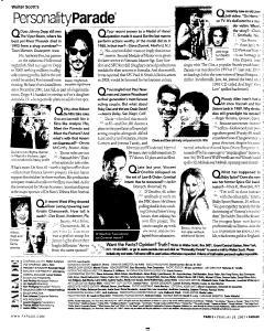 Syracuse Post Standard, February 20, 2005, Page 178