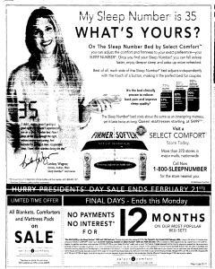 Syracuse Post Standard, February 20, 2005, Page 188