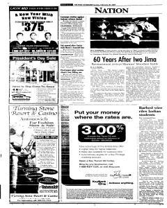 Syracuse Post Standard, February 20, 2005, Page 206
