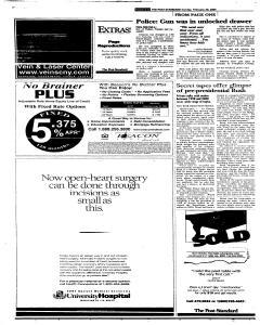 Syracuse Post Standard, February 20, 2005, Page 258