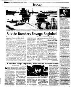 Syracuse Post Standard, February 20, 2005, Page 284