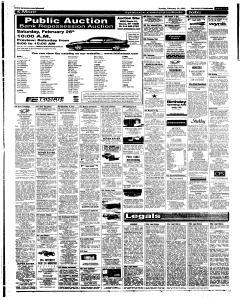 Syracuse Post Standard, February 20, 2005, Page 59
