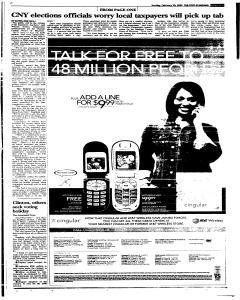 Syracuse Post Standard, February 20, 2005, Page 231
