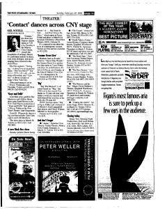 Syracuse Post Standard, February 20, 2005, Page 123