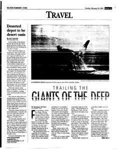 Syracuse Post Standard, February 20, 2005, Page 127