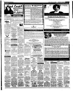 Syracuse Post Standard, February 20, 2005, Page 63
