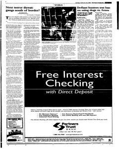Syracuse Post Standard, February 20, 2005, Page 229