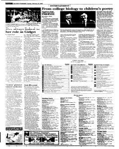 Syracuse Post Standard, February 22, 2005, Page 30