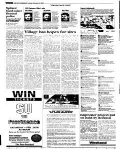 Syracuse Post Standard, February 22, 2005, Page 96