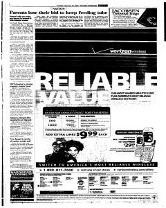 Syracuse Post Standard, February 22, 2005, Page 3