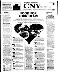 Syracuse Post Standard, February 22, 2005, Page 27