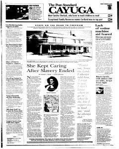 Syracuse Post Standard, February 22, 2005, Page 65