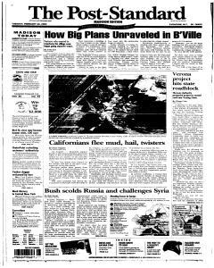 Syracuse Post Standard, February 22, 2005, Page 73