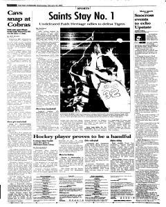 Syracuse Post Standard, February 23, 2005, Page 30