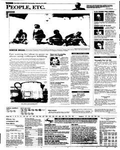 Syracuse Post Standard, February 23, 2005, Page 60