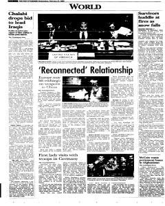 Syracuse Post Standard, February 23, 2005, Page 64