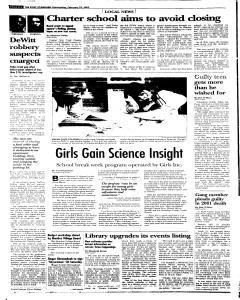 Syracuse Post Standard, February 23, 2005, Page 76