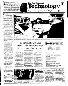 Syracuse Post Standard, February 23, 2005, Page 41