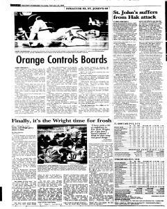 Syracuse Post Standard, February 24, 2005, Page 28