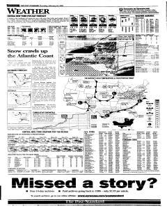 Syracuse Post Standard, February 24, 2005, Page 34