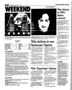 Syracuse Post Standard, February 24, 2005, Page 50