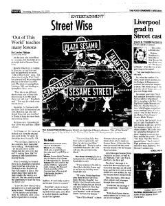 Syracuse Post Standard, February 24, 2005, Page 52