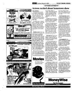 Syracuse Post Standard, February 24, 2005, Page 78