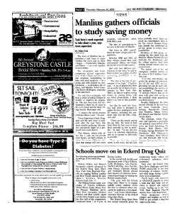 Syracuse Post Standard, February 24, 2005, Page 86