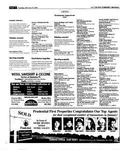 Syracuse Post Standard, February 24, 2005, Page 92