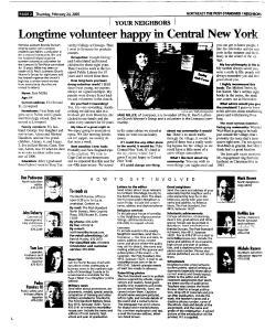 Syracuse Post Standard, February 24, 2005, Page 117