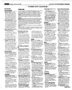 Syracuse Post Standard, February 24, 2005, Page 139