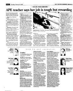 Syracuse Post Standard, February 24, 2005, Page 208