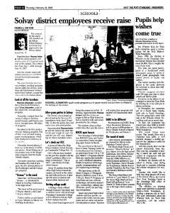 Syracuse Post Standard, February 24, 2005, Page 238