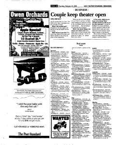 Syracuse Post Standard, February 24, 2005, Page 244